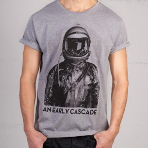 An Early Cascade t-shirt by Daniel Strohhäcker, front view
