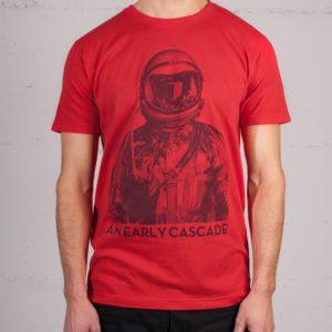 An Early Cascade T-shirt von Daniel Strohhäcker, Frontansicht