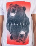 Queen of Bears t-shirt by Daniel Strohhäcker, detail view of the print
