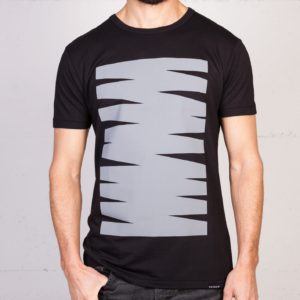 Monument Scribble t-shirt by Geometry Daily, front view