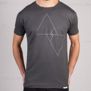 Vice versa t-shirt by Geometry Daily, front view