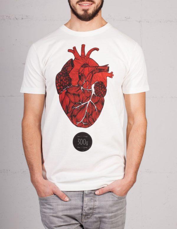 Dreihundert Gramm T-shirt von Mathilda Mutant, Frontansicht
