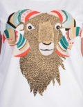 Mufflon T-shirt von Mathilda Mutant, Detailansicht des Prints