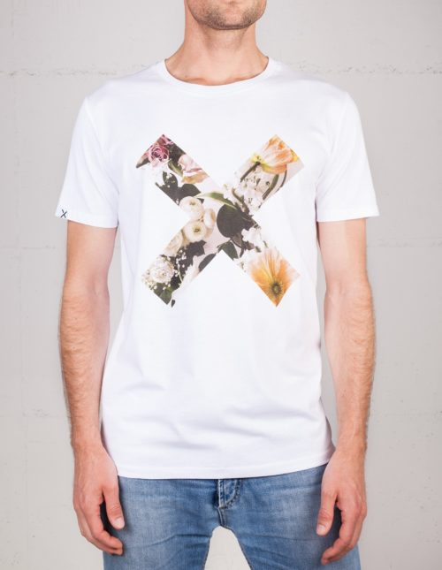 X Moments t-shirt by Masha Sedgwicks, front view