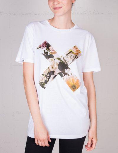 X Momente T-shirt von Masha Sedgwicks, Frontansicht