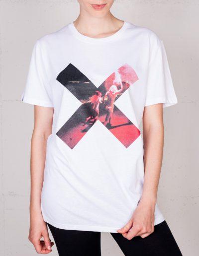 X Momente T-shirt von Simon Lohmeyers, Frontansicht