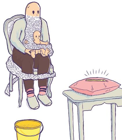 Daniel Strohhäcker illustration for Kinki Magazine