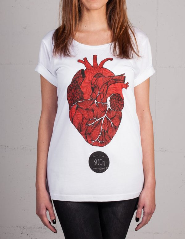 Dreihundert Gramm t-shirt by Mathilda Mutant, front view