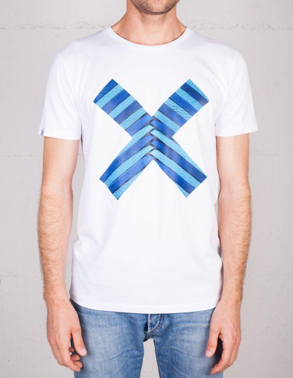X Moments t-shirt by Lili Radu, front view