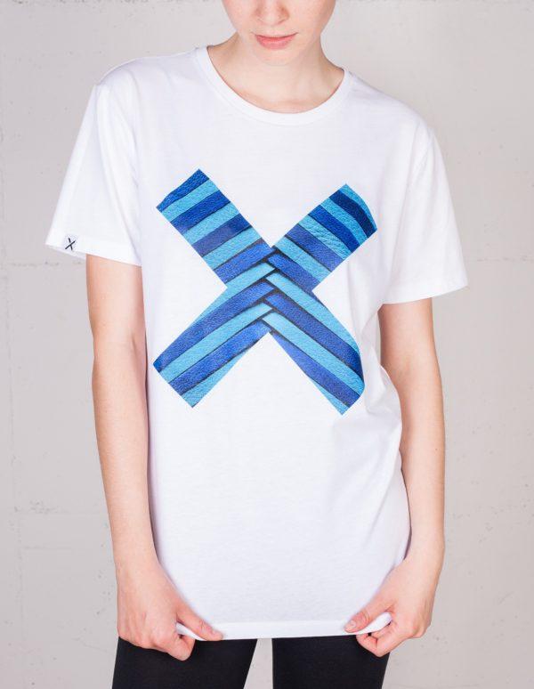 X Momente T-shirt von Lili Radu, Frontansicht